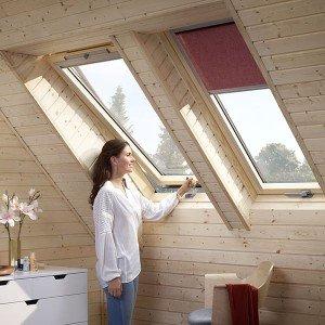 Деревянные мансардные окна Woodline