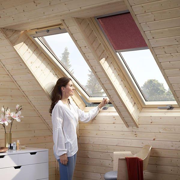 Мансардные окна Woodline